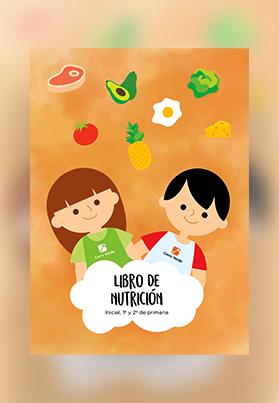 Libros de nutrición 1º y 2º de primaria